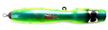 Top view image of the Maniac GT Ocean 110g popper lure