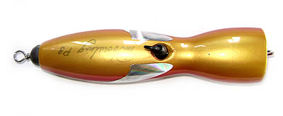 Bottom view image of Pinbowling Popper lure