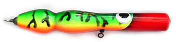 Side view image Twisted Pencil Neck popper lure
